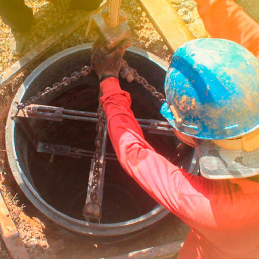 Rehabilitación de pozos de agua